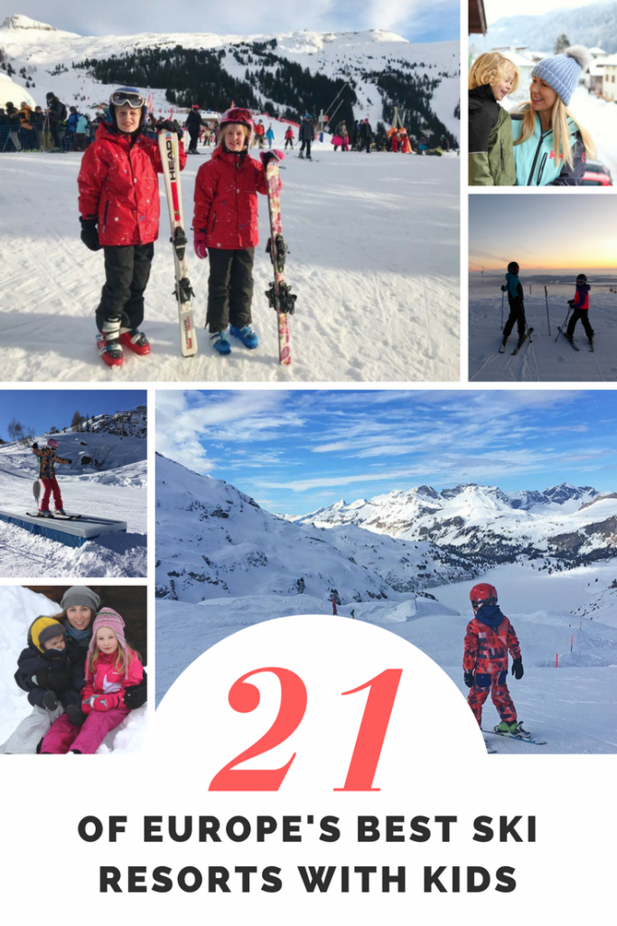 The ultimate guide to family friendly ski resorts in Europe with kids - Skiing in Switzerland Zermatt