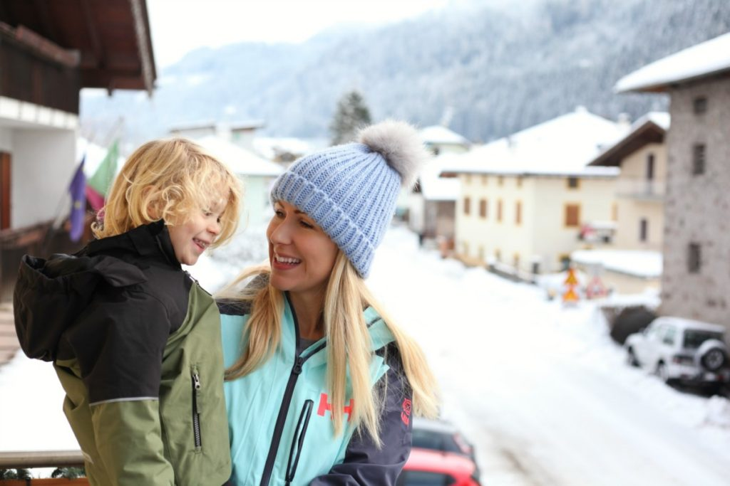 The ultimate guide to family friendly ski resorts in Europe with kids - Italy Val di Fiemme