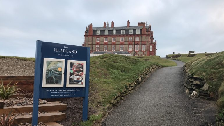 A winter's trip to The Headland Hotel, Cornwall - copyright: www.globalmousetravels.com
