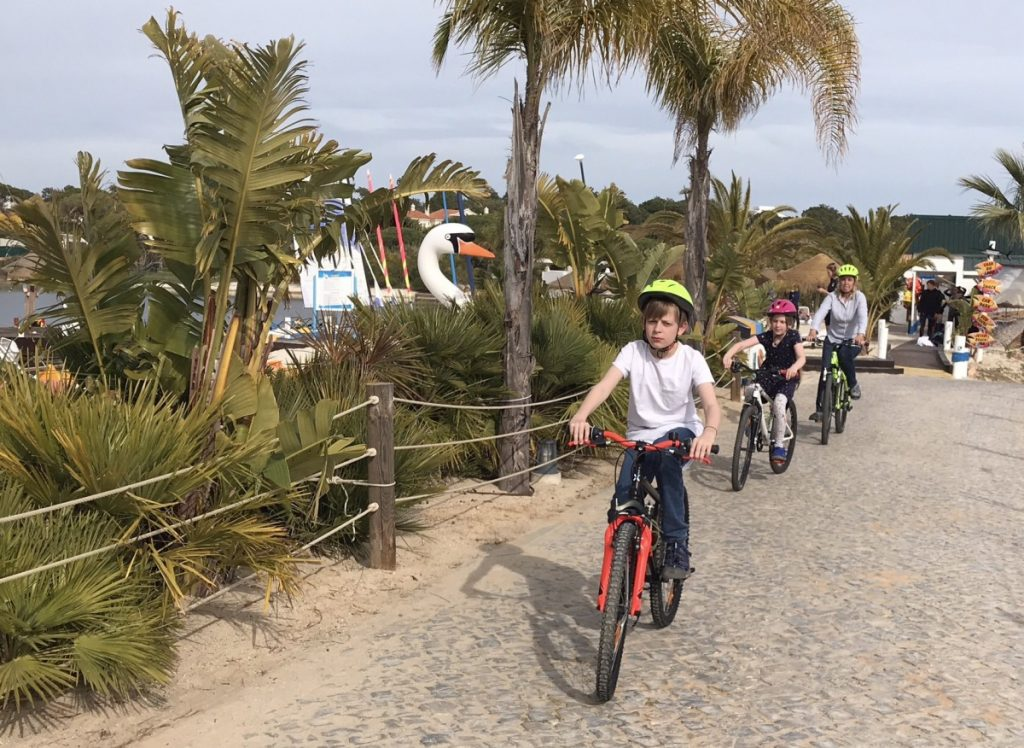 Cycling - 10 top things to do in Algarve with kids - copyright: www.globalmousetravels.com