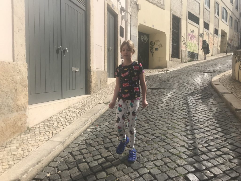 Hitting the streets of Lisbon with Raspberry Republic SS18 - copyright: www.globalmousetravels.com
