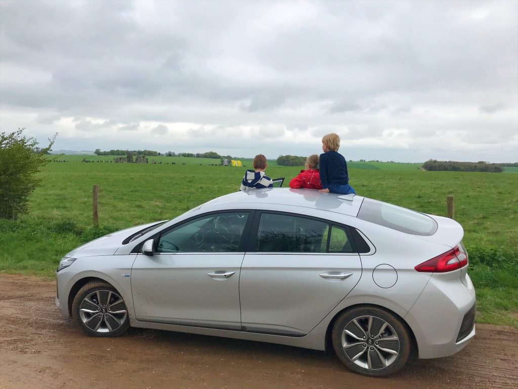 Stonehenge - Exploring The Great Stones Way by car, UK