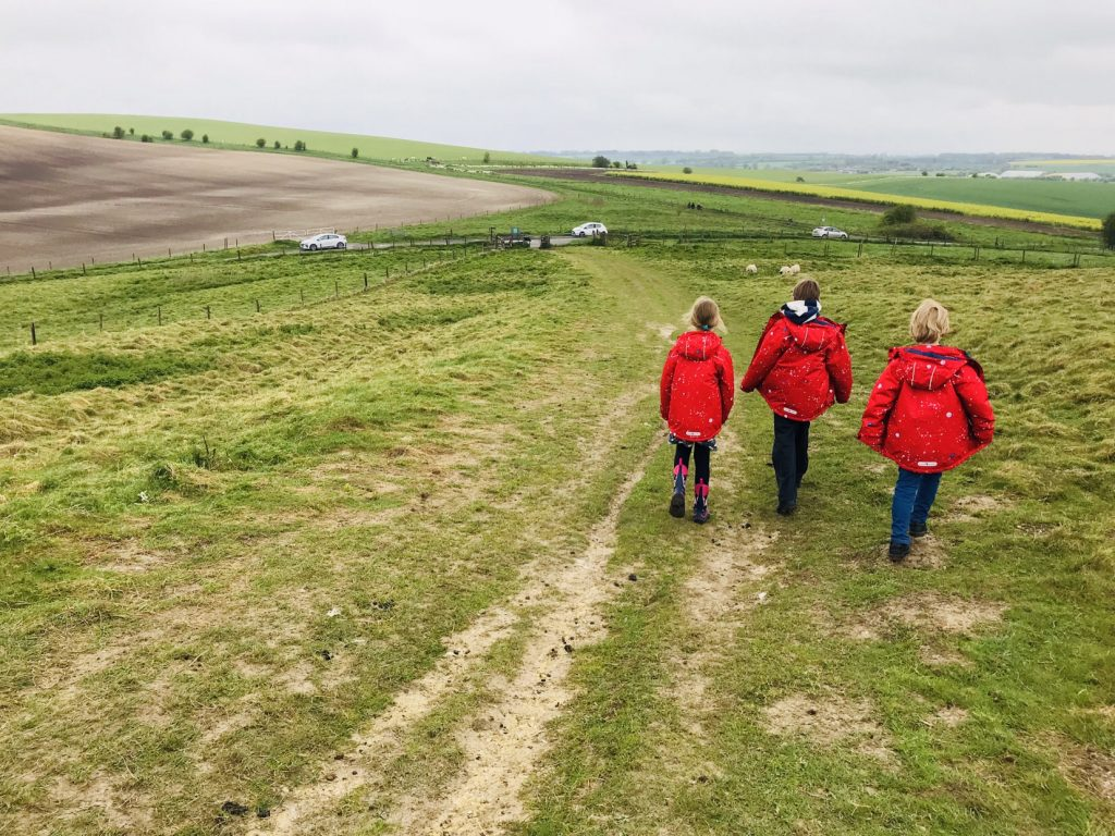 Barbury Castle - Exploring The Great Stones Way by car, UK